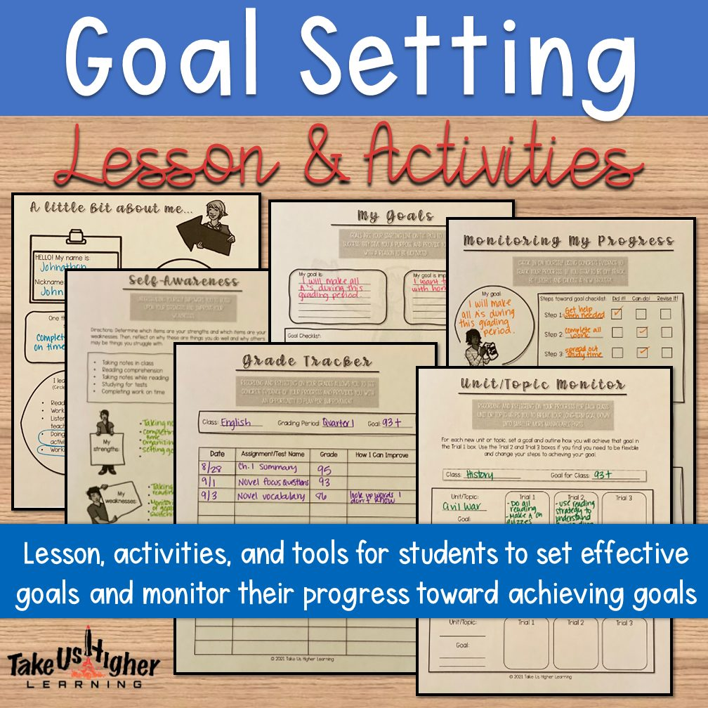 Goal Setting Lesson & Activities